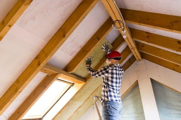 home attic insulation