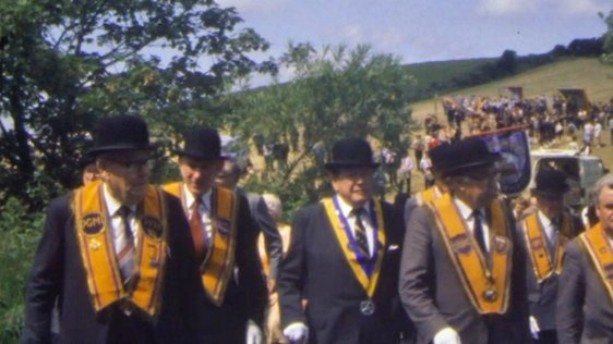Orange Parade Rossnowlagh