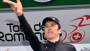 Geraint Thomas hopes to raise £100,000 for the NHS