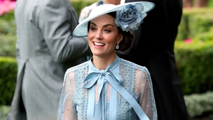 Kate chose an Elie Saab dress and a Philip Treacy hat for her day at the races.