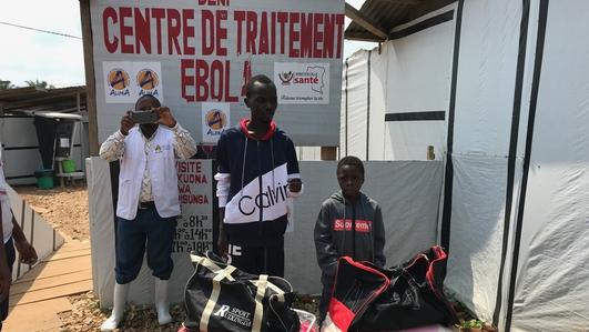 Trauma inside a DRC ebola treatment centre