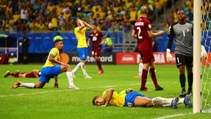 Brazil were held to a surprise scoreless draw