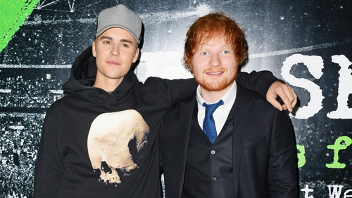 Ed Sheeran is following up his chart success with Justin Bieber with collaborations album next month
