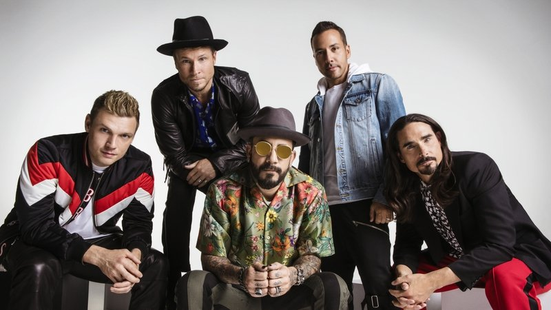 Interview: Backstage with the Backstreet Boys
