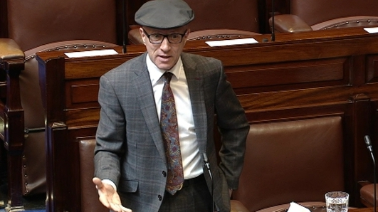 Kerry TD Michael Healy-Rae treated for smoke inhalation after fire