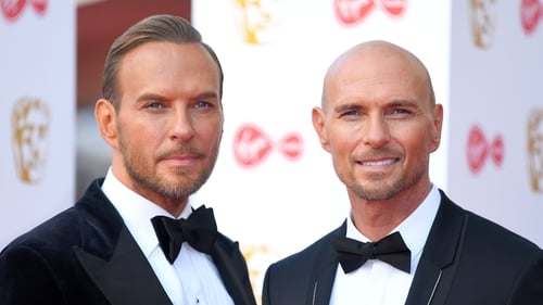 Virgin Media British Academy Television Awards 2019 - Red Carpet Arrivals LONDON, ENGLAND - MAY 12: Matt Goss and Luke Goss of Bros attend the Virgin Media British Academy Television Awards 2019 at The Royal Festival Hall, London on May 12, 2019