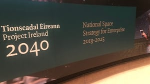 The country's first ever National Space Strategy for Enterprise was launched today