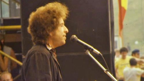 Bob Dylan at Slane Castle on 8 July 1984