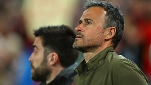 Luis Enrique has come up with an original description of matches behind closed doors