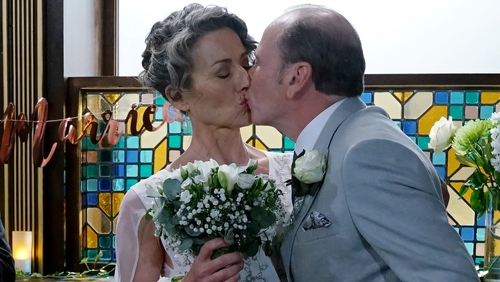 Will Heather get between Jackie and Hughie on their wedding day?