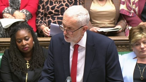 Jeremy Corbyn said a no-deal Brexit would plunge Britain into the worst excesses of disaster capitalism