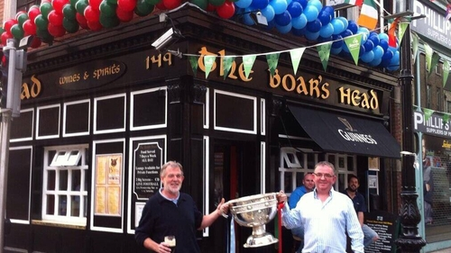 All-Ireland final weekend outside The Boar's Head