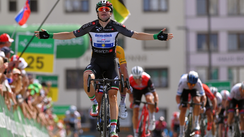 Second stage victory for Viviani at Tour de Suisse