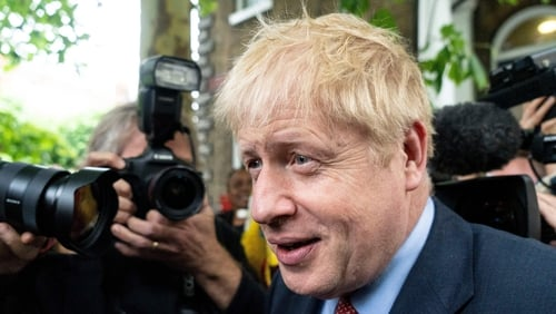 Boris Johnson refuses to answer questions about police incident at his home