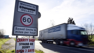 The proposals would effectively mean customs posts being erected five to ten miles 'back' from the actual land frontier
