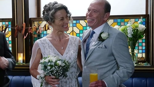 Will Hughie and Jackie's wedding day pass off without a hitch on Fair City?!