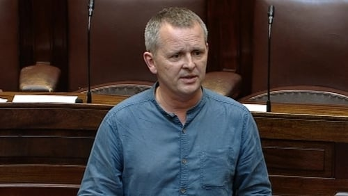 Solidarity-People Before Profit TD Richard Boyd Barrett accused the Government of abusing the money message across 55 bills