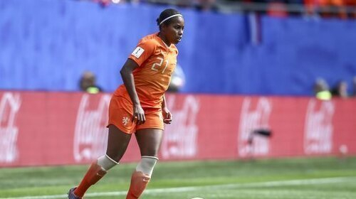 Lineth Beerensteyn got the winner for the Dutch