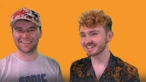 Ian Lynam (L) and Tadhg Ó Ciardha are performing at the Light it Up Comedy Gold event