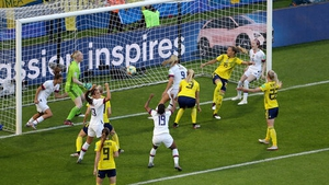 USA's Lindsey Horan scored an early goal