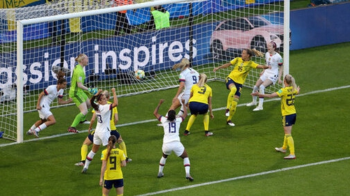 United States  dominates rival Sweden 2-0 to remain undefeated