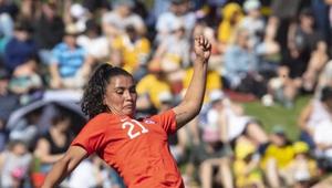 Francisca Lara missed the vital spot kick