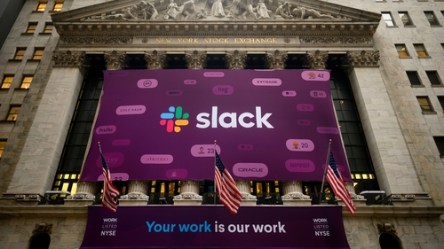 Shares of Slack Technologies soared nearly 50% in their public trading debut yesterday