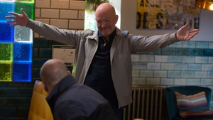 Callum and Stuart's dad Jonno makes a surprise visit to Walford