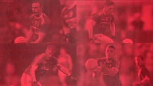 Clockwise from top left:Mattie Taylor, Liam O'Donovan, Nathan Walsh and Killian O'Hanlon