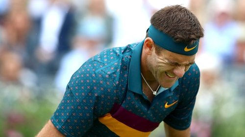 Del Potro raises doubts over career after latest injury