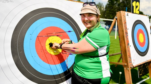 Maeve Reidy was on target on day one