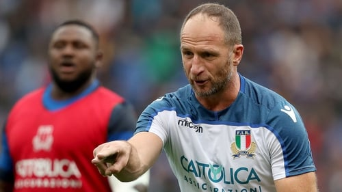 Mike Catt has been working with Conor O'Shea in Italy