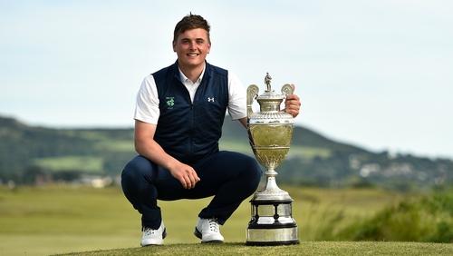 James Sugrue is the 2019 Amateur Champion