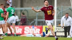 James Dolan celebrates his goal