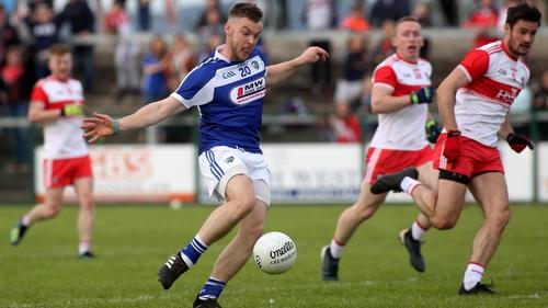 Eoin Lowry scores the decisive goal
