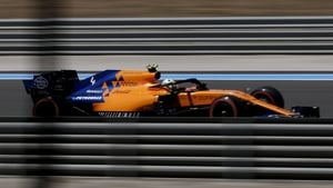 Carlos Sainz in Friday's practice at the Circuit Paul Ricard