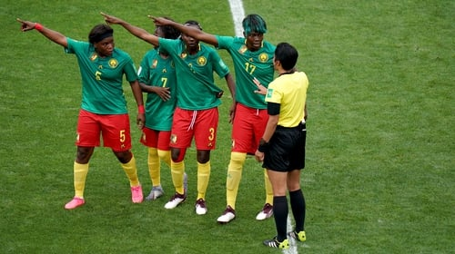 Cameroon were at the centre of a VAR controversy