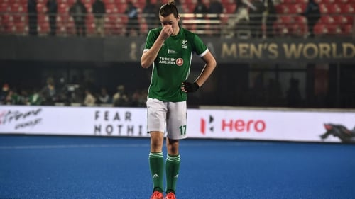 Sean Murray was Ireland's goalscorer in the 3-1 defeat to France