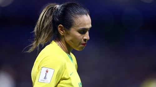 """Marta: """"There's not going to be a Formiga forever, there's not going to be a Marta forever, there's not going to be a Cristiane. Women's football depends on you to survive."""""""