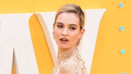 """Lily James: """"Life has changed, other people's reactions to you change and that can be really difficult."""""""