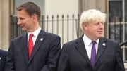 Jeremy Hunt (L) and Boris Johnson are rivals in the Conservative Party leadership race (file pic)