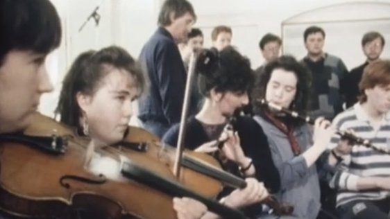 Music students at UCC 1989