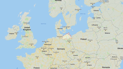 Two Eurofighter war planes crash over eastern Germany