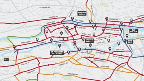 The routes were suggested by regular cyclists based on segregation, quality and connectedness