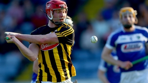 Kilkenny's Adrian Mullen fires home his second goal of the evening
