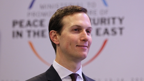 President Donald Trump's son-in-law and adviser Jared Kushner is leading the Peace to Prosperity economic workshop
