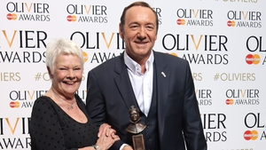 Judi Dench and Kevin Spacey pictured in 2015