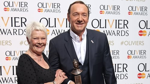 Judi Dench defends Kevin Spacey's work
