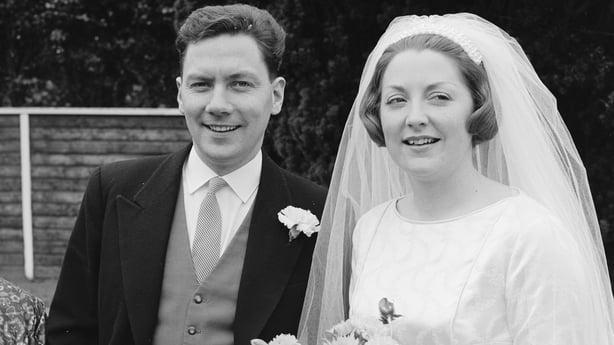 Gay Byrne and Kathleen Watkins's Wedding