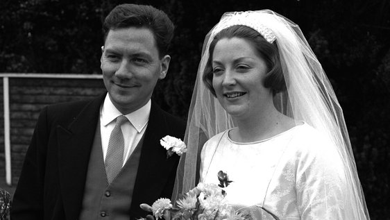 Gay Byrne and Kathleen Watkins's Wedding